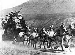 Yellowstone stagecoach