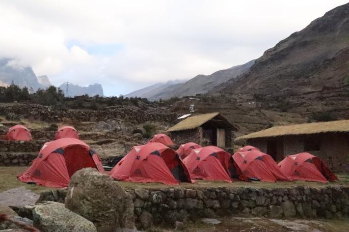 g adventures camp site